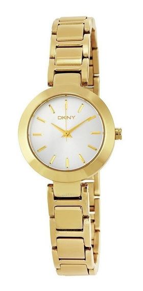 Relógio Luxo Feminino Dkny Donna Karan Dourado Ny2399/4kn Nf