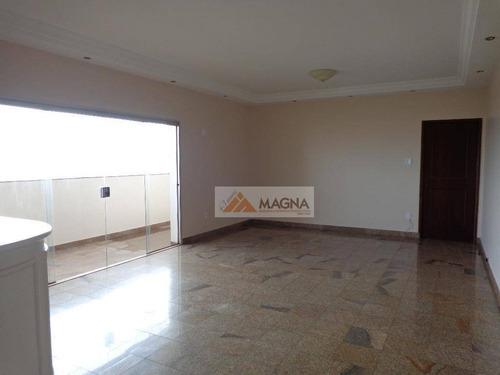 Apartamento Residencial À Venda, Jardim Paulista, Ribeirão Preto - Ap2088. - Ap2088