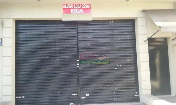 Loja Comercial Para Locação, Vila Mascote, São Paulo. - Lo0010