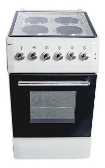 Cocina Electrica Blanca 4 Hornallas 220v Kacemaster Nueva