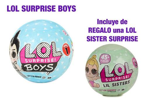Imagen 1 de 1 de L.o.l. Surprise Boys Con Lil Sister De Regalo