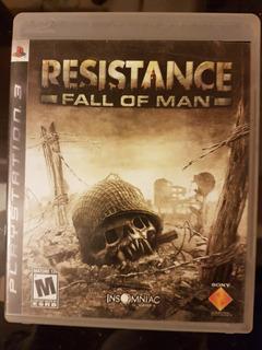Videojuego Resistence Fall Of Man Para Ps3
