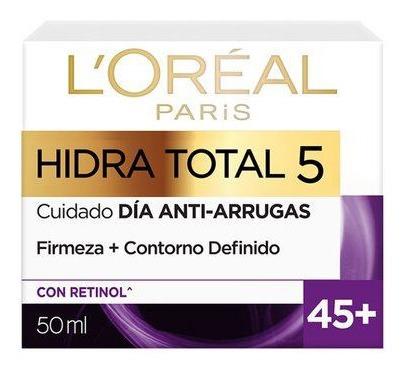 Crema Humectante Loreal Hidra-total 5 45+