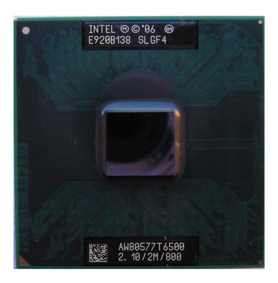 Processador Intel Core 2 Duo T6500 2.10/2m/800