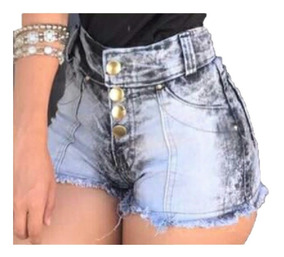 06 Short Jeans Com E Sem Lycra Hotpant Com Preço Revenda
