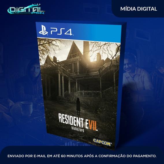 Resident Evil 7 : Biohazard Ps4 Psn Jogo Digital Envio Hoje!