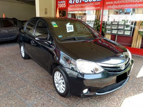 Toyota Etios 1.5 Xls 2016, Unica Mano, Impecable!!!