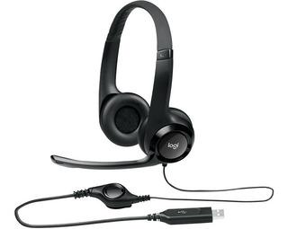 AURICULAR CON MICRÓFONO HEADSET USB LOGITECH H390