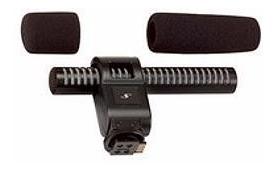 Microfone Canon Dm-50 Estéreo Direcional Pronta Entrega