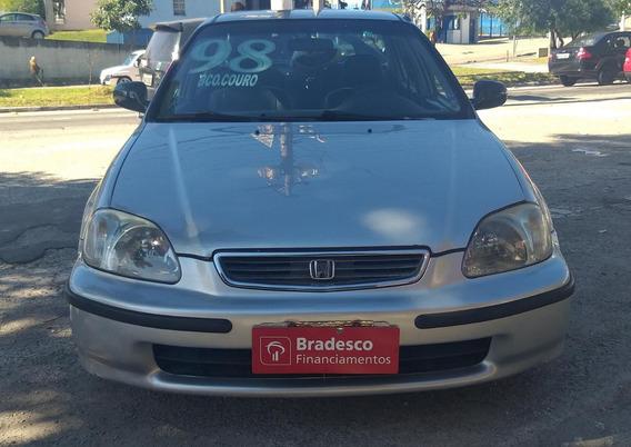Honda Civic Lx 1.6 Completo Novo