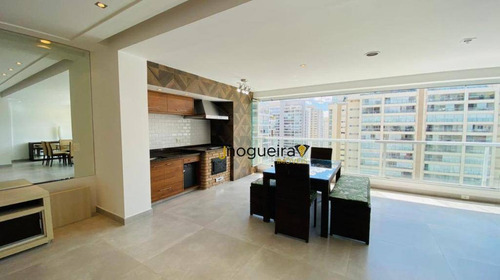 Apartamento Para Alugar, 222 M² Por R$ 15.000,00/mês - Campo Belo - São Paulo/sp - Ap14354