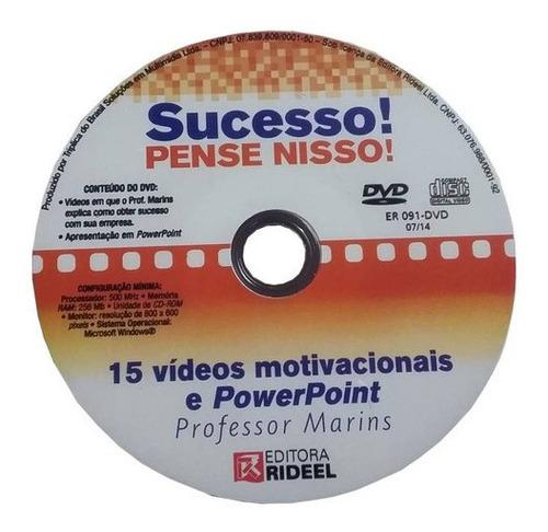 Imagem 1 de 1 de Dvd Original Sucesso! Pense Nisso! Prof. Marins - Original