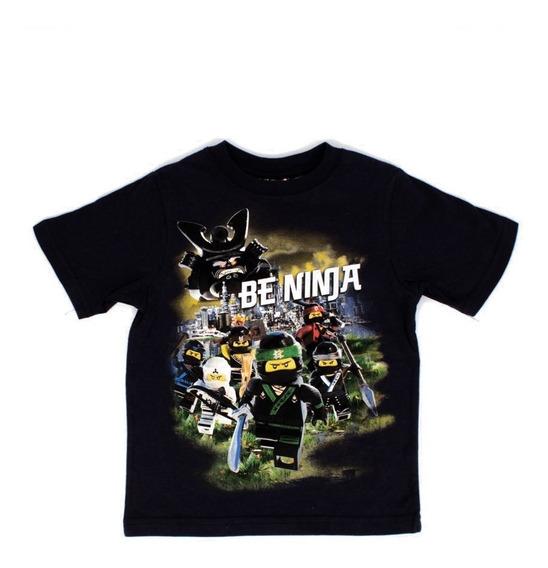 Playera Para Niño Lego Estampado Ninjago En Equipo Ninja