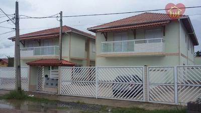 Lançamento: Sobrados Em Condomínio Fechado Em Mongaguá (litoral Sul) - Codigo: So0082 - So0082
