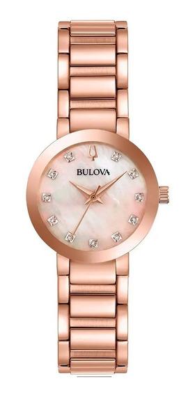 Relógio Bulova Feminino 97p132 *diamantes