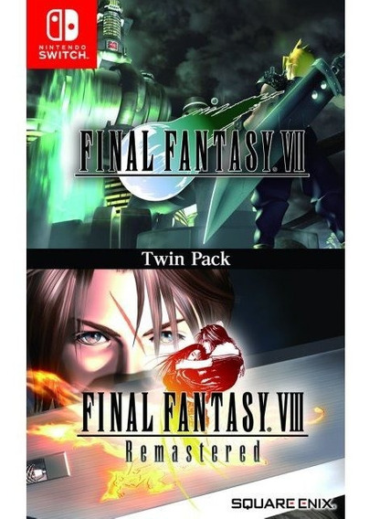 Final Fantasy Vii & Final Fantasy Vii Twin Pack Switch