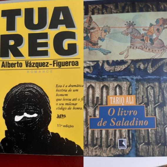 2 Livro Saladino + Tuareg Tariq Ali Figueroa Record Lpm