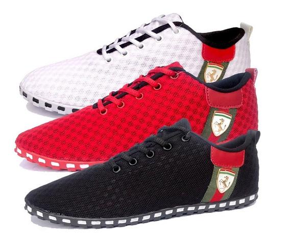 Tenis Ferrari Cavallino (oferta) 3 Pares (12 Sem Juros)