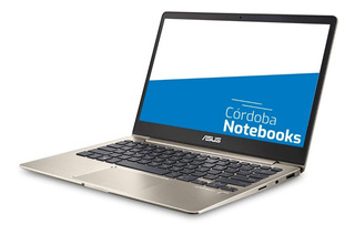 Notebook Asus Zenbook Core I7 8gb 256gb Ssd 13.3 Full Hd - 18 Cuotas Sin Interes!!!