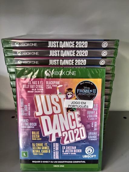 Just Dance 2020 Xbox One Mídia Física Lacrado Em Português