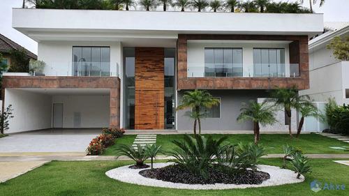 Casa Com 5 Dorms, Barra Da Tijuca, Rio De Janeiro - R$ 8.8 Mi, Cod: 46 - V46