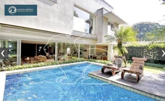 Casa Com 4 Dormitórios À Venda, 900 M² Por R$ 8.490.000,00 - Cidade Jardim - São Paulo/sp - Ca2985