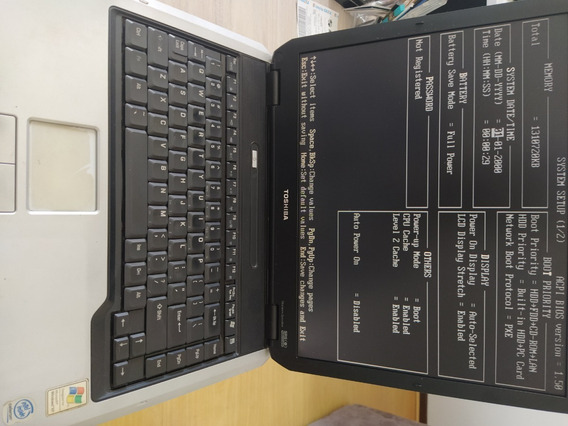 Notebook Toshiba Satellite