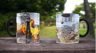 22 Plantillas Sublimación Tazas - Free Fire
