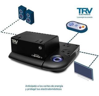 Estabilizador De Tension Trv Concept2 Para Pc, Notebook