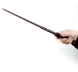 Varita Harry Potter Para Disfraz 36cm + Porta Varita De Lujo