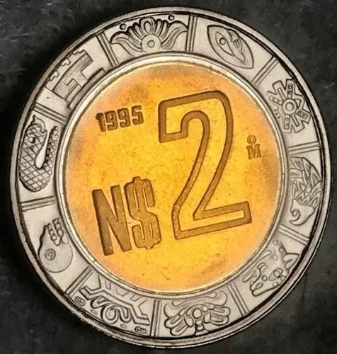 Monedas De $2 Nuevos Pesos Año 1995