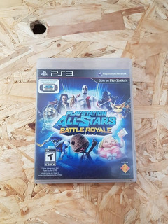 Playstation All Stars Battle Royale Playstation 3 Ps3 !!