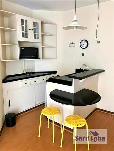 Imagem 1 de 7 de Apartamento Em Cidade Monções  -  São Paulo - 4505