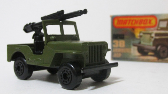 Matchbox Lesney 1977 Jeep Armoured 38