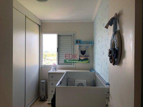 Imagem 1 de 6 de Apartamento Com 2 Dormitórios À Venda, 50 M² Por R$ 243.800 - Parque Residencial Flamboyant - São José Dos Campos/sp - Ap8665