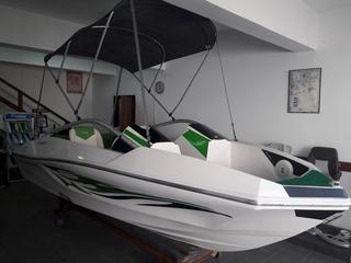 Barco Lancha Ventura 160 + Motor 60hp 2t