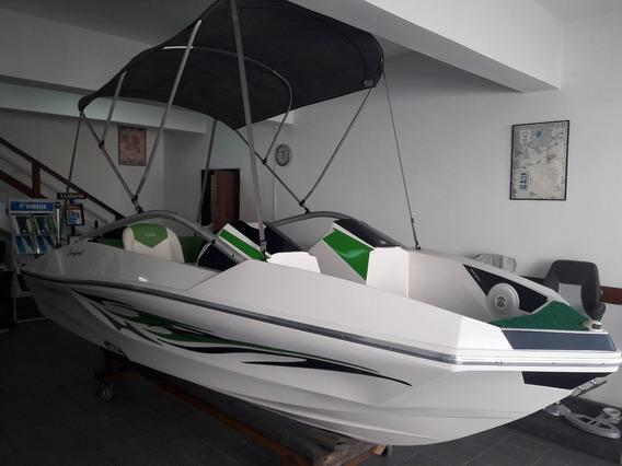 Barco Lancha Ventura 160 (ñ Focker) + Motor 60hp 2t