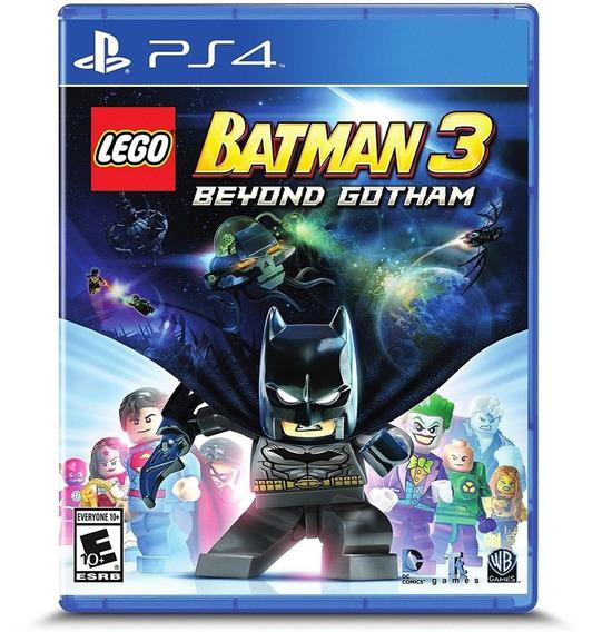 Lego Batman 3: Beyond Gotham Ps4 Mídia Física Lacrado