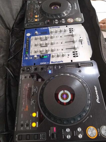 Coloca Assimkit Cdj 1000+ Mixer+ Bagsemi Novo