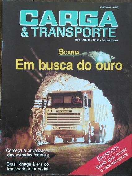 Carga Nº93 1993 Scania Na Mineração