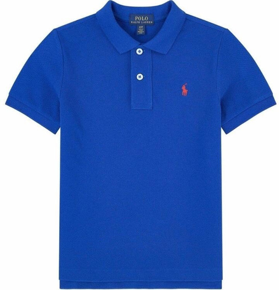 Camiseta Polo Ralph Lauren 3xl Tallas Grandes Big Tall Azul