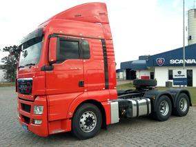 Man Tgx 29.440, 2014, 6x4 Scania Seminovos Pr 9260