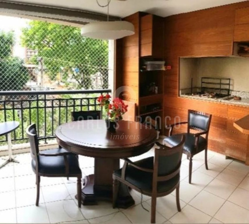 Apartamento, 4 Dormitórios Na Vila Romana - Cf69277