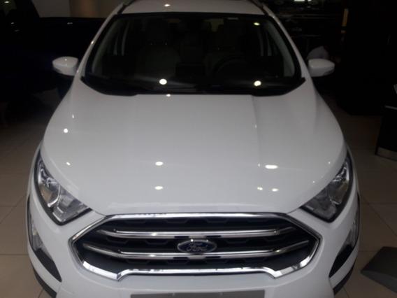 Ford Ecosport Nafta 1.5l 5 Ptas 4x2 Se 0km Año 2020 Blanca