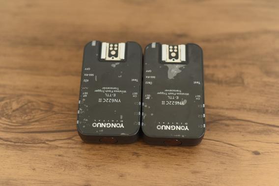 Kit Radio Flash Canon Yn-622c