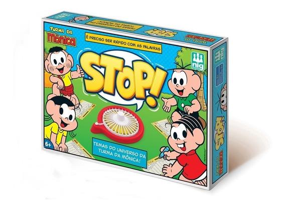 Jogo Stop Turma Da Monica Com Roleta - Nig