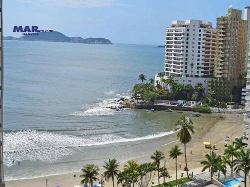 Imagem 1 de 16 de Apartamento Com 4 Dormitórios À Venda, 140 M² Por R$ 900.000,00 - Praia Das Astúrias - Guarujá/sp - Ap10386