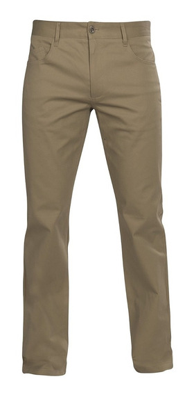 Pantalon Hombre Kaki Chino Formal Casual Stretch 90301