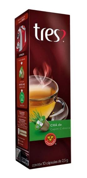 Chá De Capim Cidreira Três Corações Caixa 10 Cápsulas 2.5gr