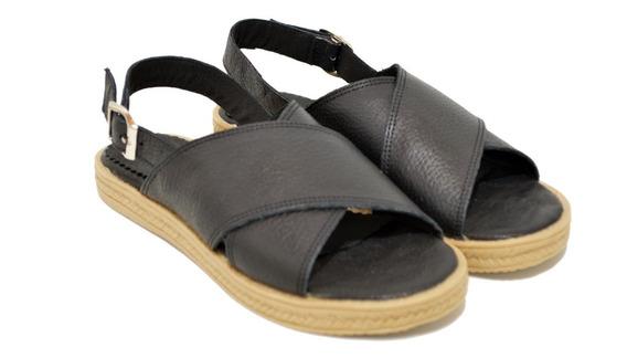 Sandalias Ojotas Mujer Cuero Tiras Cruzadas Moda 2020 68jo